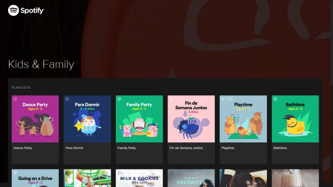 Spotify Kids And Family 2