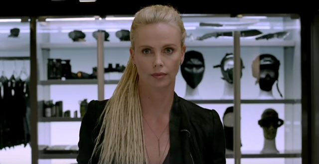 Charlize Theron Fate Of Furious