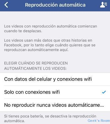 Facebook Reproduccion Automatica Videos Ios Wm