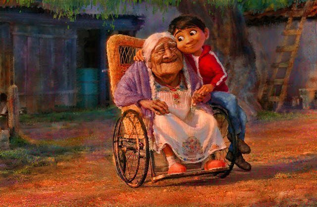 Miguel And Abuelita