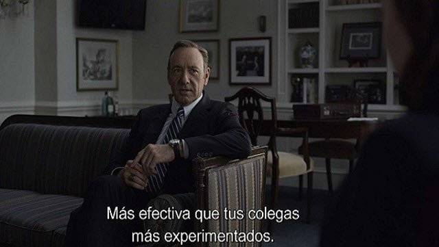 House Of Cards Subtitulos