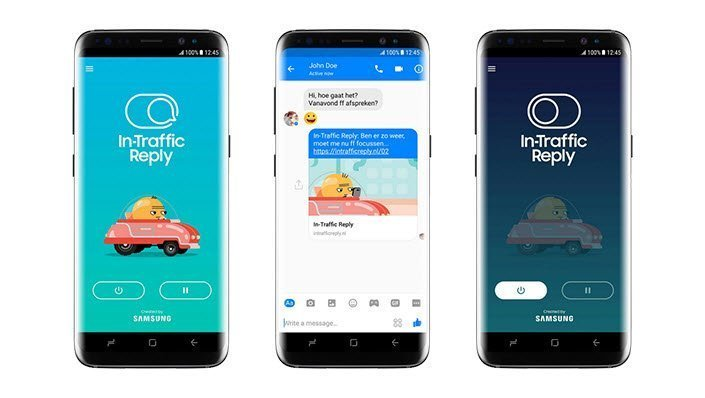 In Traffic Reply Samsung Previene Accidentes