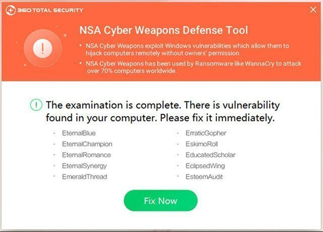 360 Nsa Cyber Weapons Defense Tool