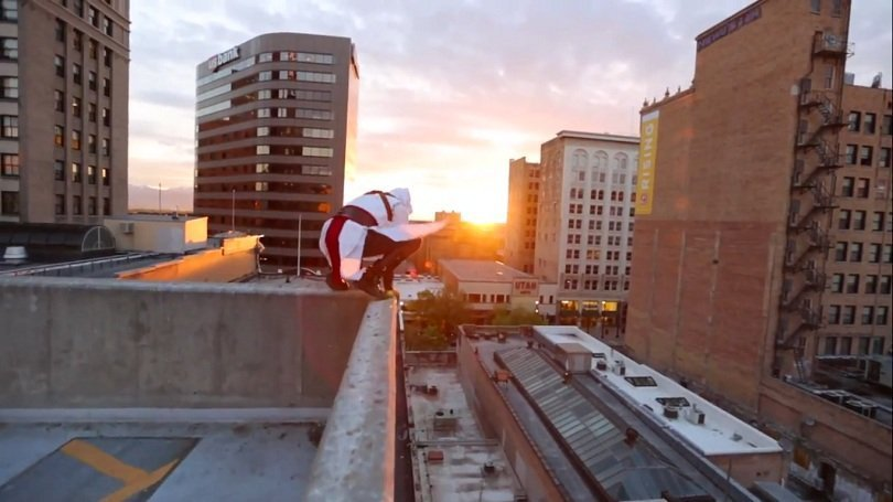 Assassins Creed Meets Parkour In Real Life