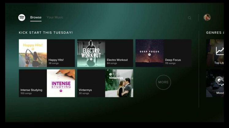 Spotify Music For Xbox