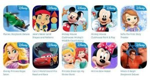 Demanda Disney Apps
