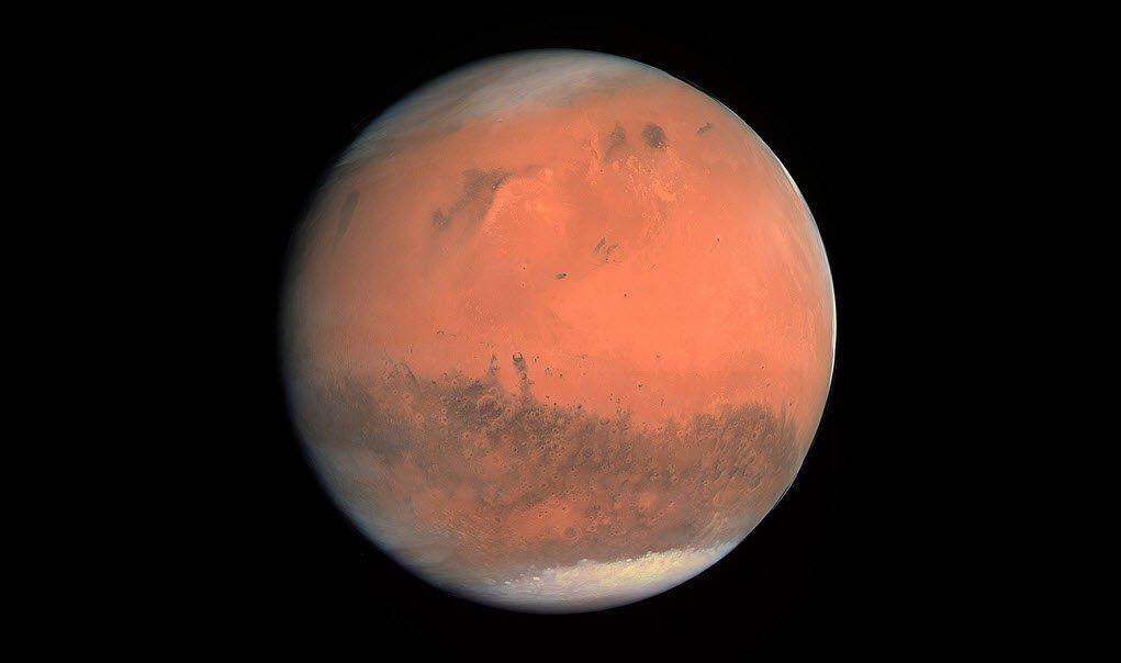 Agua En El Ecuador De Marte