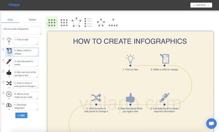 Vislapp Crear Infografias Web