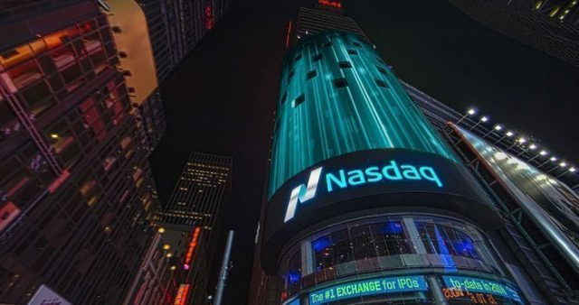 Nasdaq Comparacion Datos Patente Blockchain