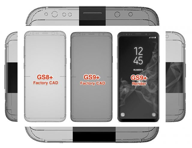 Galaxy S9 Factory Cad