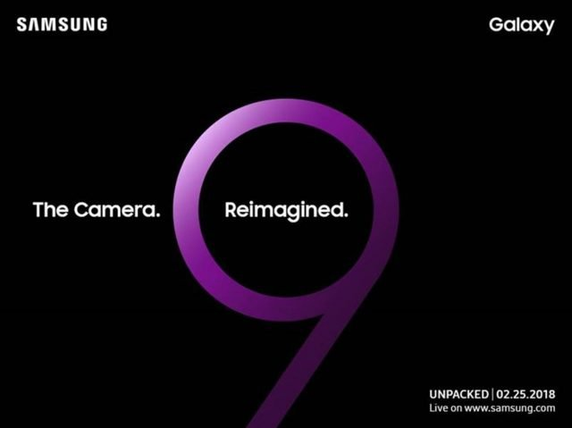 S9 Unpacked Event Invite