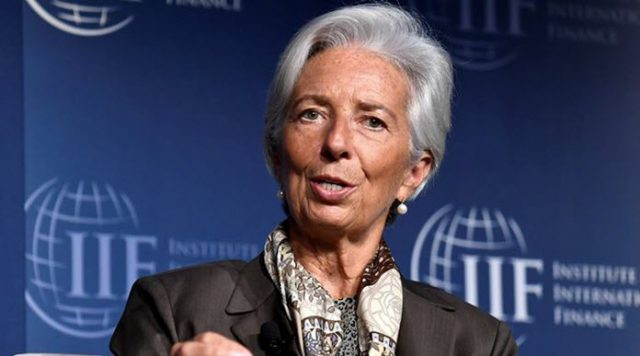 Christine Lagarde Fmi Blockchain Regular Criptomonedas