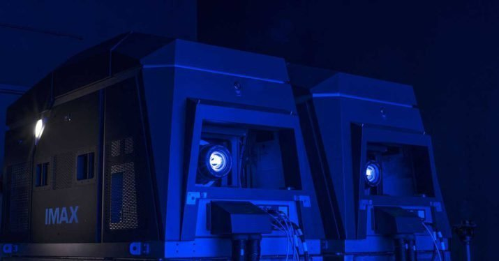Imax S Laser Projection System