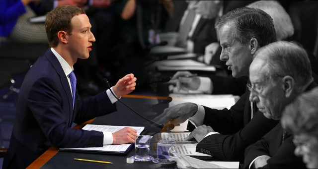 Mark Zuckerberg Testifica Ante El Congreso