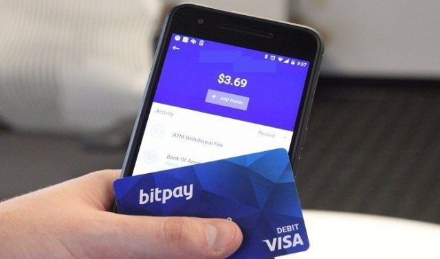 Bitpay Card Mobile App