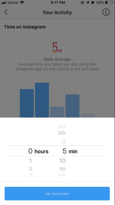 instagram activity