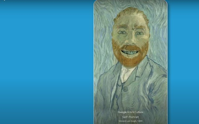 Google Arts & Culture Filtro Van Gogh