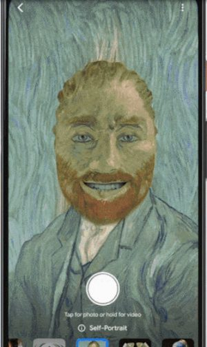 Google Arts & Culture Filtro Van Gogh 2