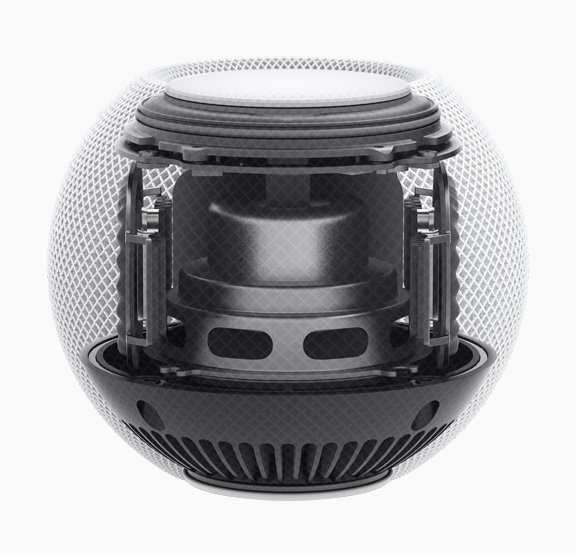 Vista interna del HomePod Mini
