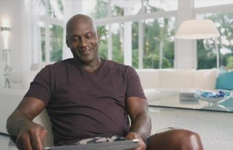 Michael Jordan en escena de documental Last Dance