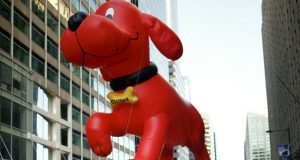 Cliffrod The Big Red Dog en Nueva York