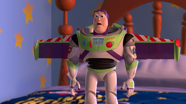 Buzz Lightyear en 'Toy Story'