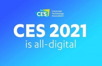 Anuncio con el texto: CES 2021 is all digital.