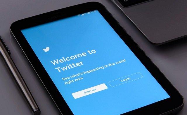 Pantalla de Bienvenida de Twitter