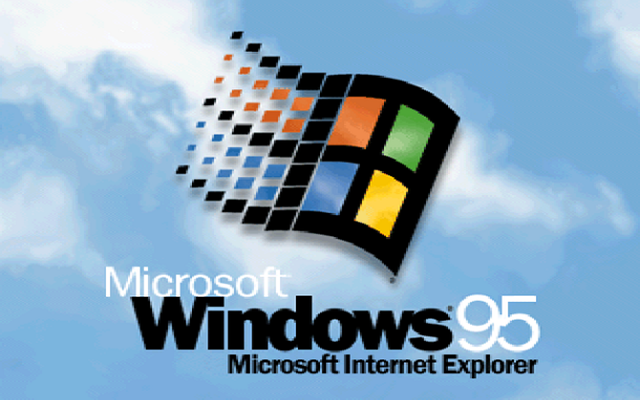 Logo de Windows 95.