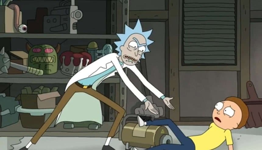 Rick and Morty serie